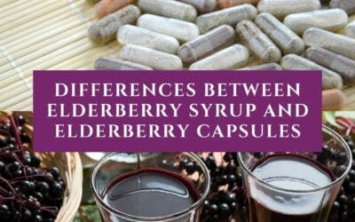The Three Fascinating Differences Between Elderberry Syrup and Elderberry Capsules